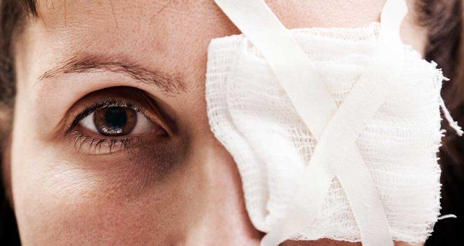 Situações que podem causar lesões oculares!