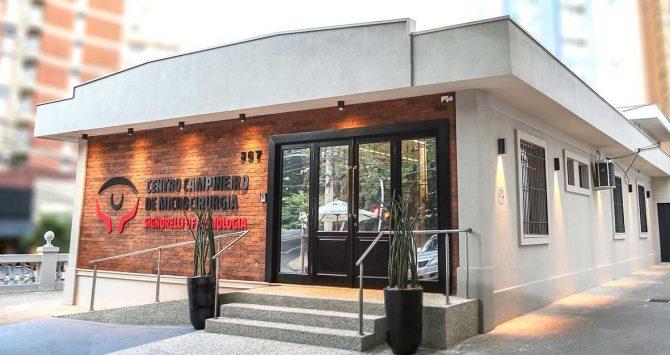 Centro Campineiro de Microcirurgia está com endereço e serviços novos