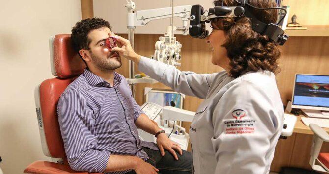 Consulta oftalmológica ou exame de vista?
